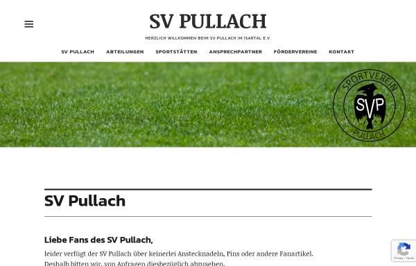 Vorschau von www.svpullach.de, Sportverein Pullach im Isartal e.V.