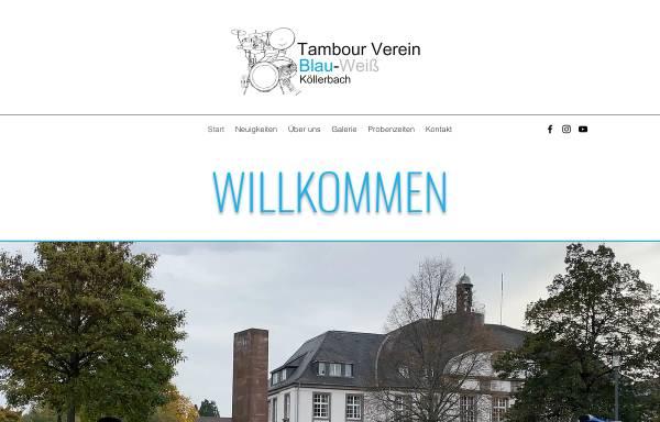Vorschau von www.musik-zug.de, Tambourverein Musikzug Blau-Weiß Köllerbach e.V.