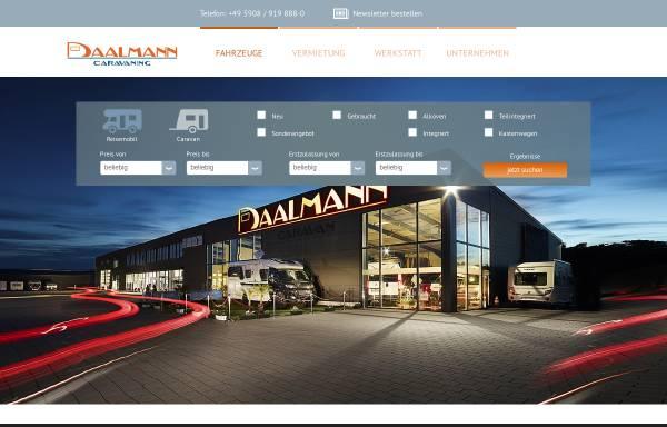 Vorschau von www.daalmann.de, Caravan Daalmann GmbH