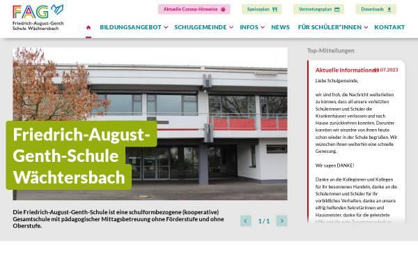 Vorschau von www.genth-schule.de, Friedrich-August-Genth-Schule