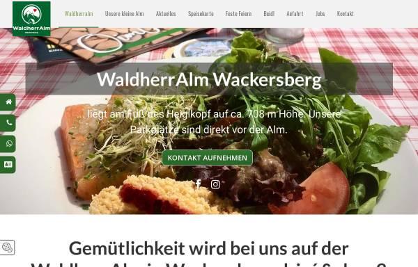 Vorschau von www.waldherralm.de, Waldherralm
