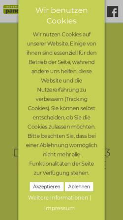 Vorschau der mobilen Webseite www.reisemobile-pander.de, Andreas Stratkötter