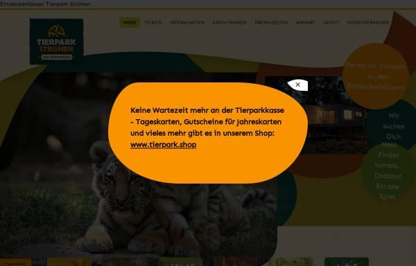 Vorschau von www.tierpark-stroehen.de, Tierpark Ströhen
