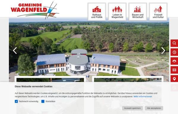 Vorschau von www.wagenfeld.de, Wagenfeld