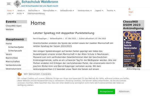 Vorschau von www.schachclub-waldbronn.de, Schachclub Waldbronn e.V.