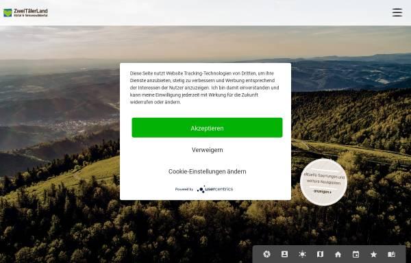 Vorschau von www.zweitaelerland.de, Waldkirch.info