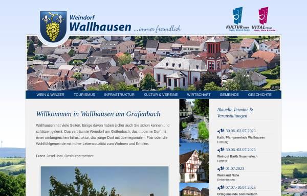 Vorschau von www.wallhausen.de, Weindorf Wallhausen