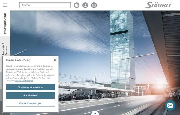 Vorschau von www.tec-line.de, Stäubli Tec-Systems GmbH