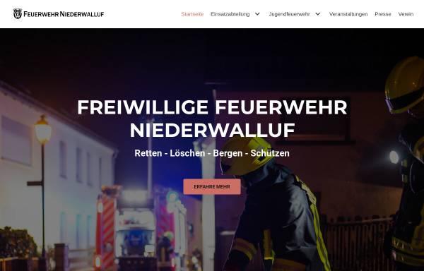 Vorschau von www.feuerwehr-niederwalluf.de, Freiwillige Feuerwehr Niederwalluf