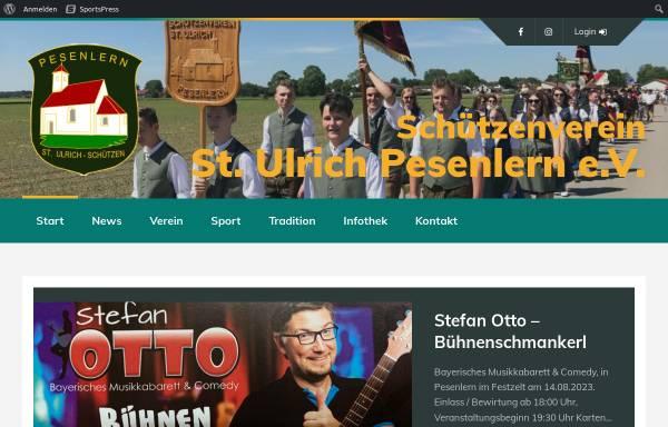 Vorschau von www.st-ulrich-pesenlern.de, Schützenverein St. Ulrich Pesenlern e.V.