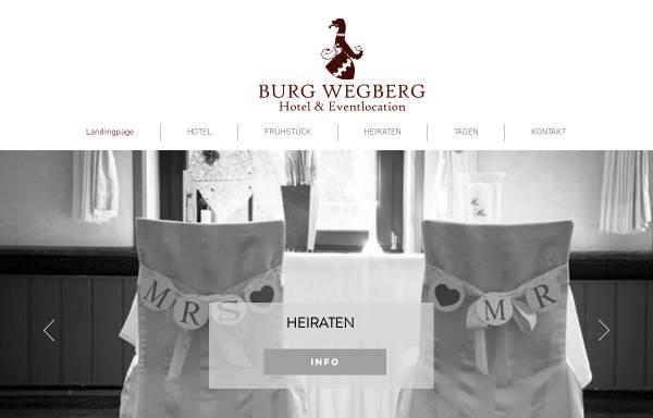 Vorschau von www.burg-wegberg.de, Hotel-Restaurant Burg Wegberg