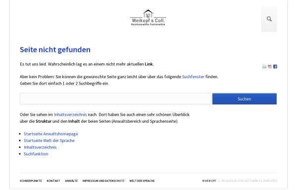 Vorschau von www.weikopf.de, Welt der Sprache - Sprachen der Welt
