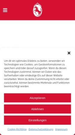 Vorschau der mobilen Webseite www.roessle-weingarten.de, Hotel Gasthof Rössle