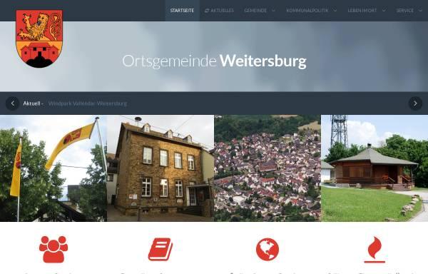 Vorschau von www.weitersburg.de, Gemeinde Weitersburg