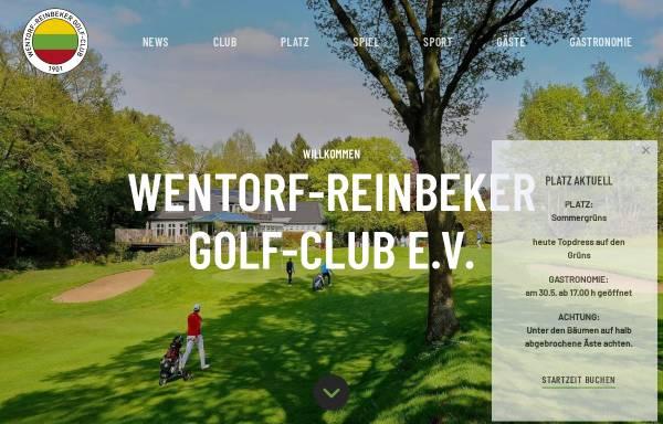 Vorschau von www.wrgc.de, Wentorf-Reinbeker Golf-Club e. V.