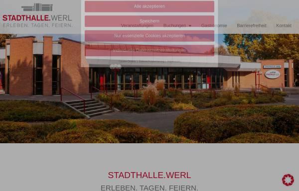 Vorschau von www.stadthalle-werl.de, Stadthalle Werl