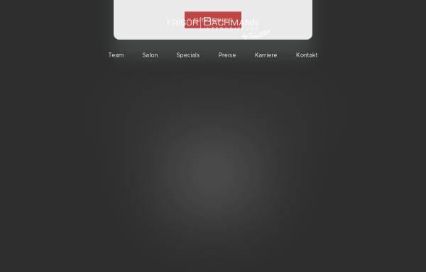 Vorschau von www.frisoer-bachmann.de, Frisör Bachmann