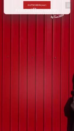 Vorschau der mobilen Webseite www.frisoer-bachmann.de, Frisör Bachmann