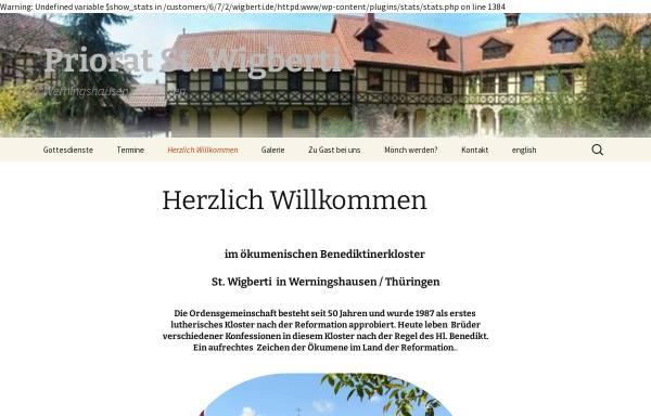 Vorschau von www.wigberti.de, Kloster Werningshausen