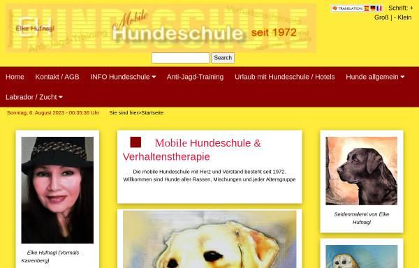 Vorschau von www.hundeschule-und-labrador.de, Hundeschule und Therapie Hoher Westerwald