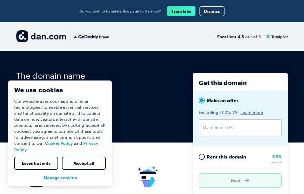 Vorschau von www.ftu.at, FTU Forschungsgesellschaft Technischer Umweltschutz GmbH