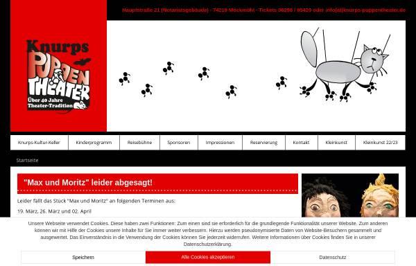 Vorschau von www.knurps-puppentheater.de, Knurps Puppentheater