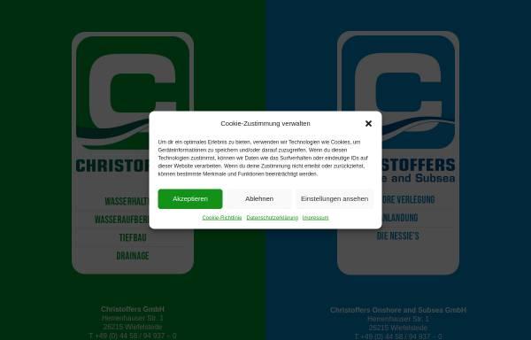 Vorschau von christoffers.de, Christoffers Kulturbau GmbH