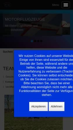 Vorschau der mobilen Webseite www.bruchpiloten.de, MFG Kreis Steinburg e.V.