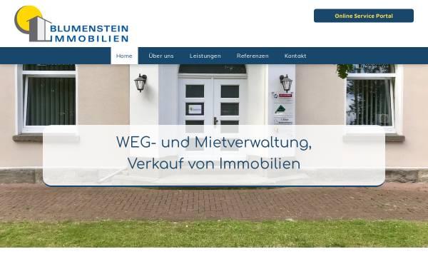 Vorschau von www.blumenstein-immobilien.de, Blumenstein Immobilien