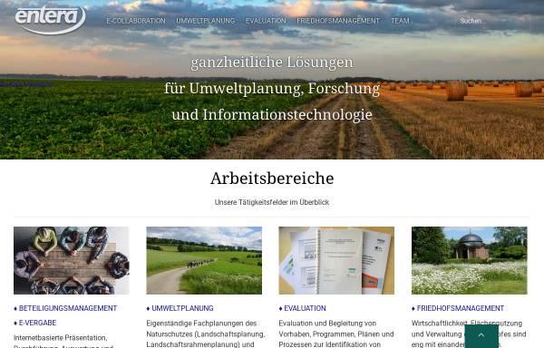 Vorschau von www.entera.de, Entera