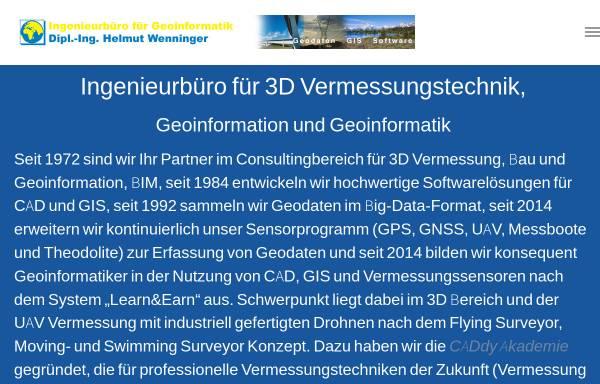 Vorschau von www.wenninger.de, Firmengruppe Wenninger