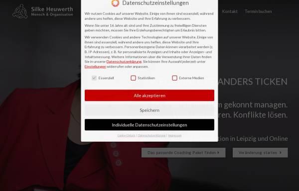 Vorschau von www.heuwerth.de, Silke Heuwerth Mensch & Organisation
