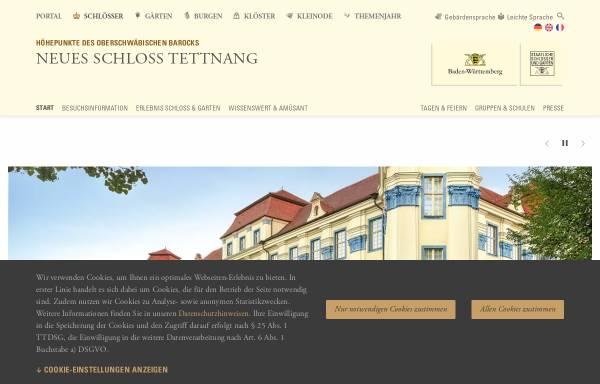 Vorschau von www.schloss-tettnang.de, Neues Schloß Tettnang