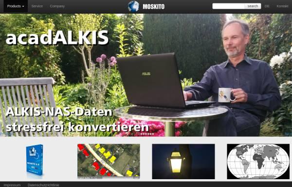Vorschau von www.moskito-gis.de, Moskito Geo Informations Systeme GmbH