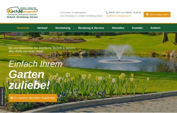 Vorschau von www.koch-motorgeraete.de, Koch Motorgeräte