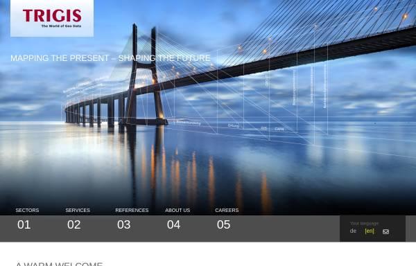 Vorschau von www.trigis.de, Trigis Vermessung & Geoinformatik GmbH