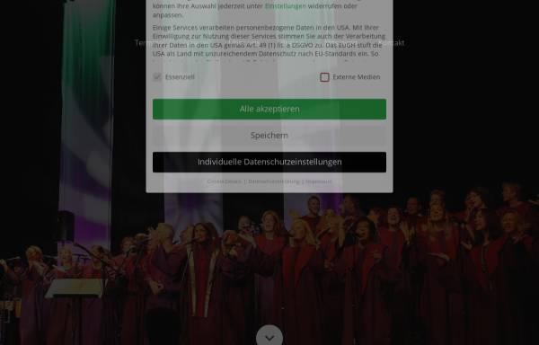 Vorschau von www.livingospel.de, LivinGospel Chor