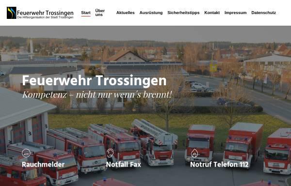 Vorschau von www.feuerwehr-trossingen.de, Freiwillige Feuerwehr Trossingen