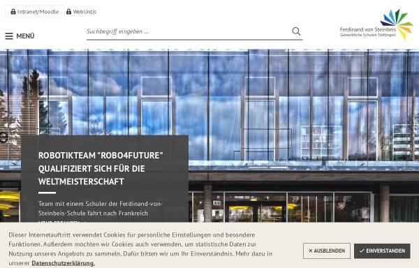 Vorschau von steinbeisschule.de, Ferdinand-von-Steinbeis-Schule - Gewerbliche Schulen, Tuttlingen