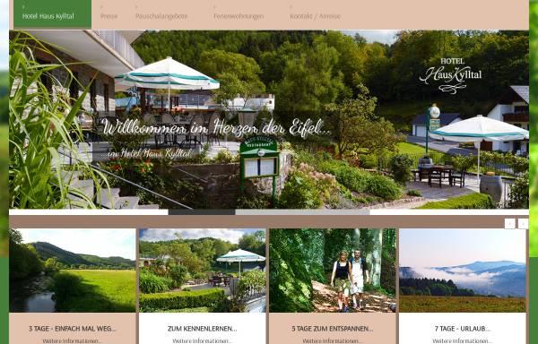 Vorschau von www.kylltal.com, Hotel Haus Kylltal