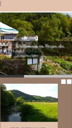 Vorschau der mobilen Webseite www.kylltal.com, Hotel Haus Kylltal