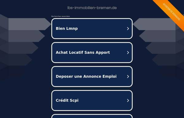 Vorschau von www.lbs-immobilien-bremen.de, LBS Immobilien Bremen