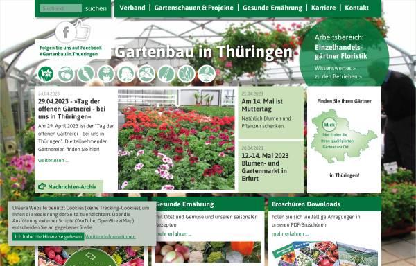 Vorschau von www.gartenbau-thueringen.de, Landesverband Gartenbau e.V. - Startseite