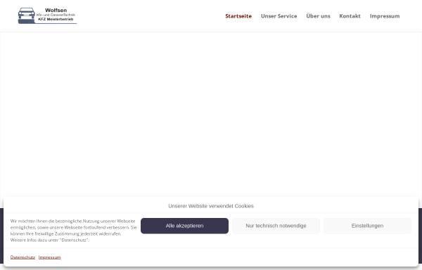 Vorschau von www.autoteile-shop-leck.de, Autoteile-Shop Leck, Waltraud Wolfsen