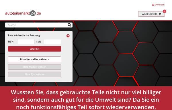 Vorschau von www.autoteilemarkt24.de, Autoverwertung Lechmann oHG