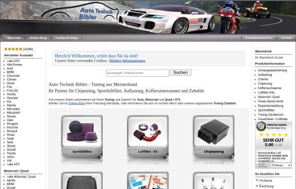 Vorschau von www.atb-tuning.de, Auto Technik Bihler