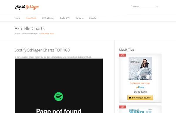 Vorschau von www.top40-schlager.de, Epos