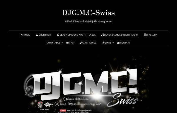 Vorschau von djgmc.ch, DJ G.M.C