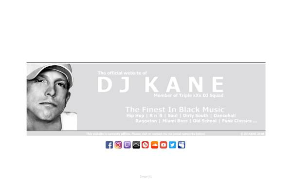 Vorschau von www.djkane.de, DJ Kane