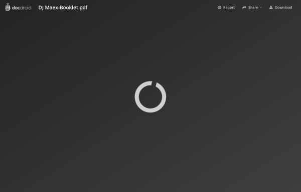 Vorschau von www.djmaex.de, DJ Mäx